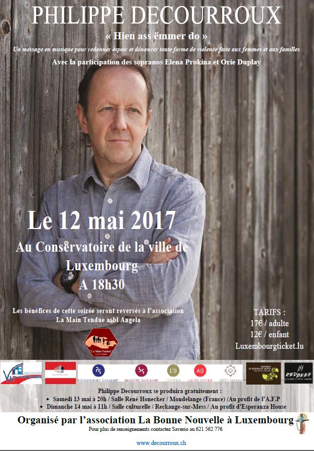 affiche Philippe Decourroux Lux